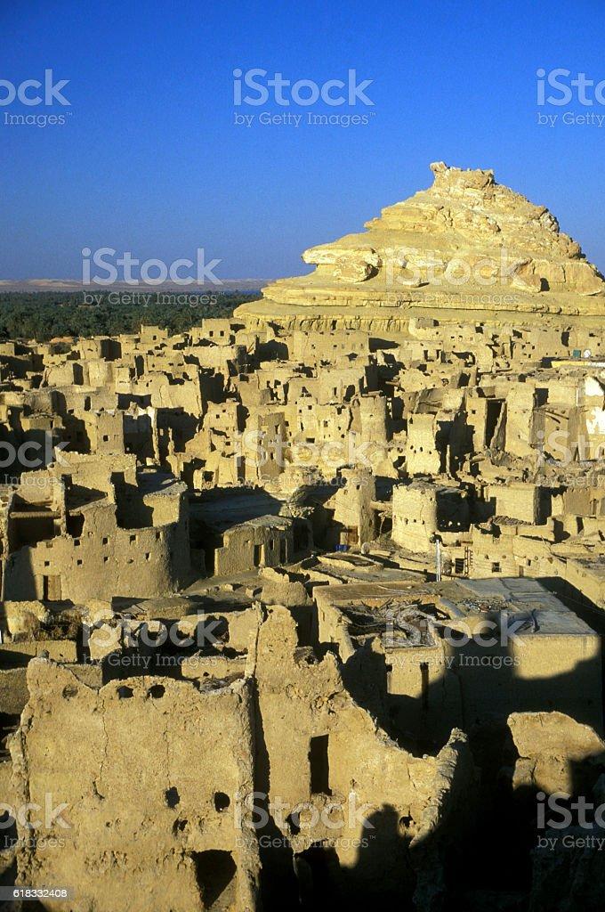 AFRICA EGYPT SAHARA SIWA OASIS stock photo