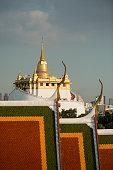THAILAND BANGKOK WAT RATCHANATDARAM GOLDEN MOUNT