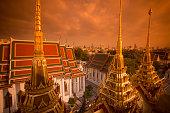 THAILAND BANGKOK WAT RATCHANATDARAM TEMPLE