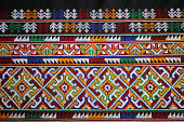 THE CLOTHES HAND MADE BY WOMAN MIEN HILL TRIBE.