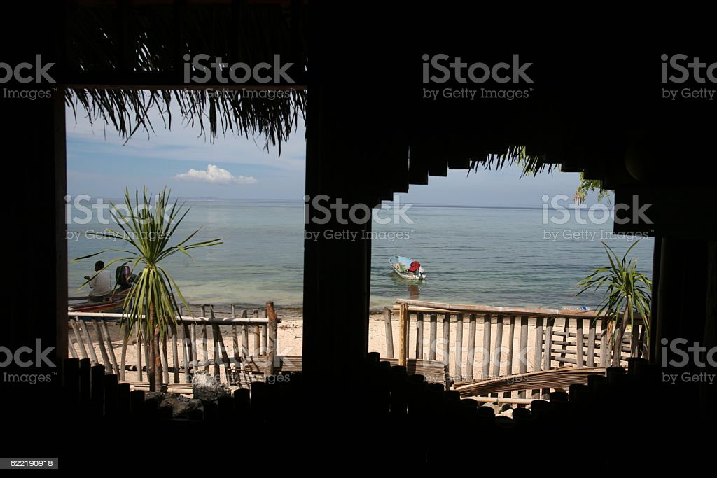 ASIA EAST TIMOR TIMOR LESTE BAUCOU BEACH stock photo