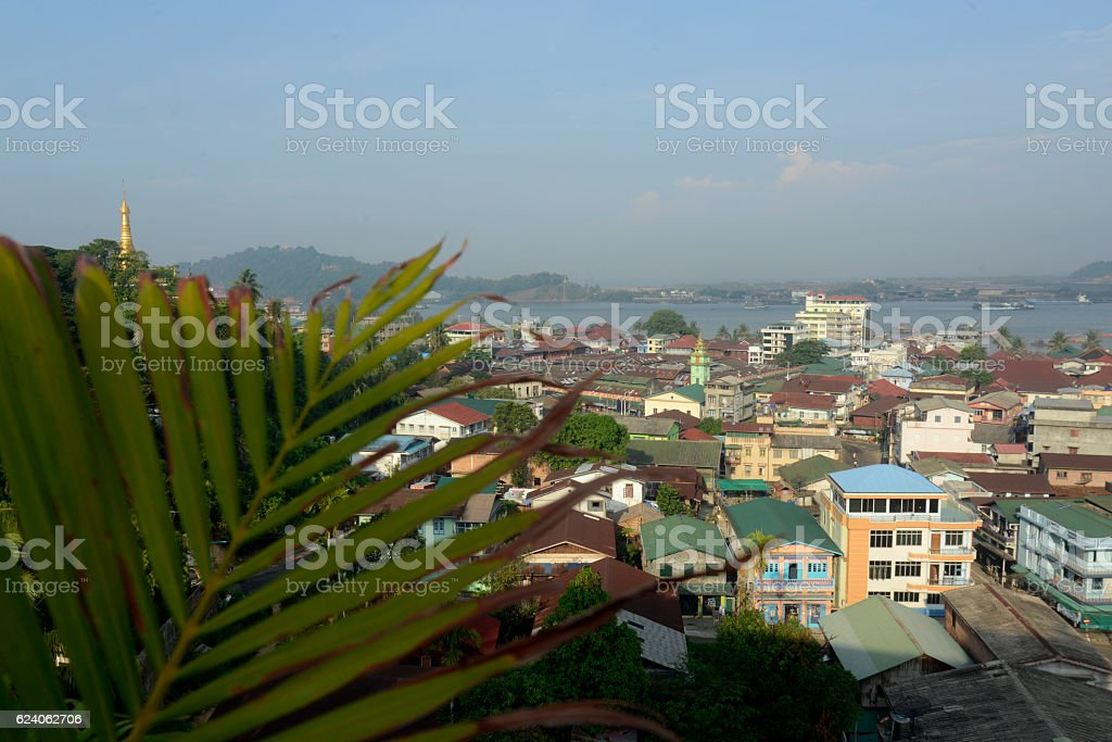 ASIA MYANMAR MYEIK CITY stock photo