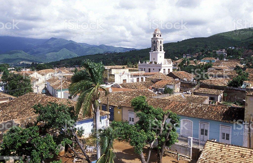 AMERICA CUBA TRINIDAD stock photo