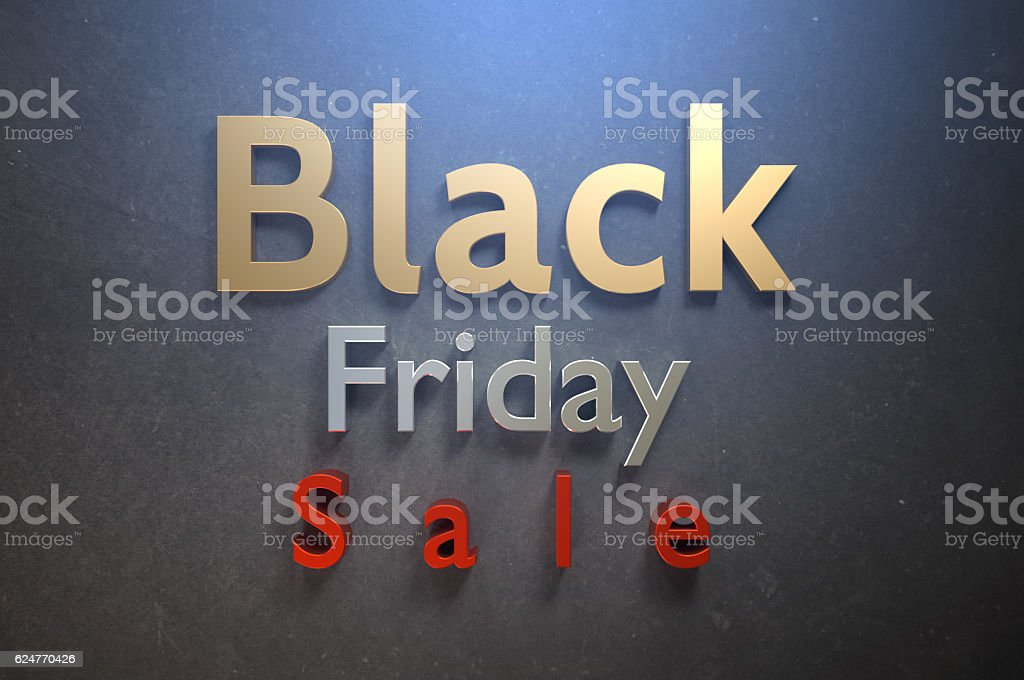 BLACK FRIDAY LOVE! stock photo