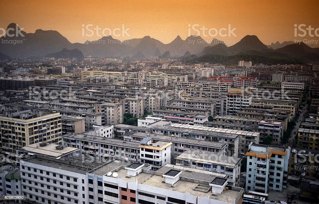 ASIA CHINA GUILIN stock photo