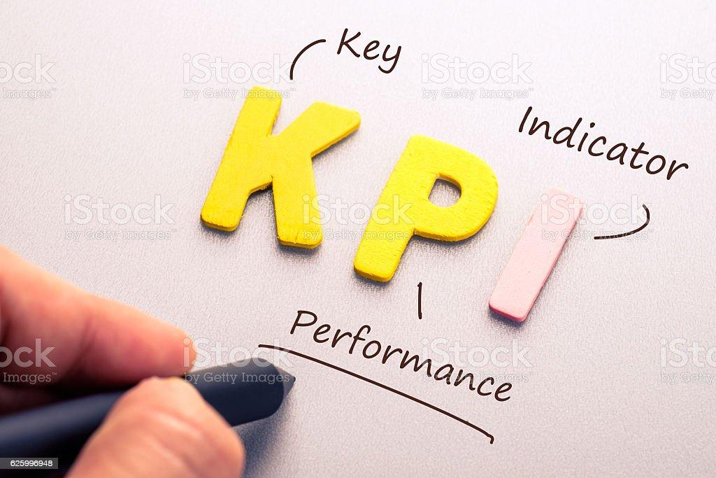 KPI stock photo