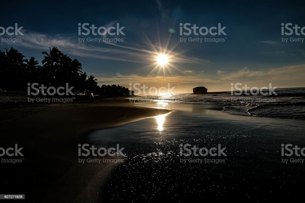 OCEANSIDE EL SALVADOR stock photo