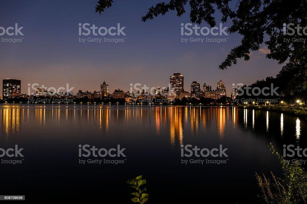 NEW YORK'S NIGHT stock photo
