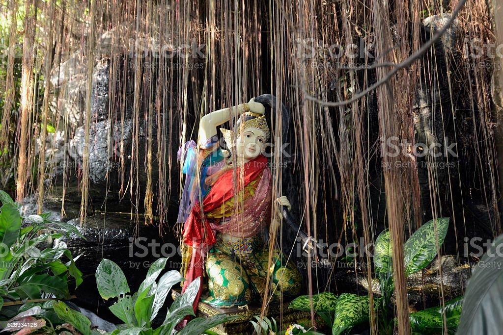 ASIA THAILAND BANGKOK WAT GARDEN stock photo