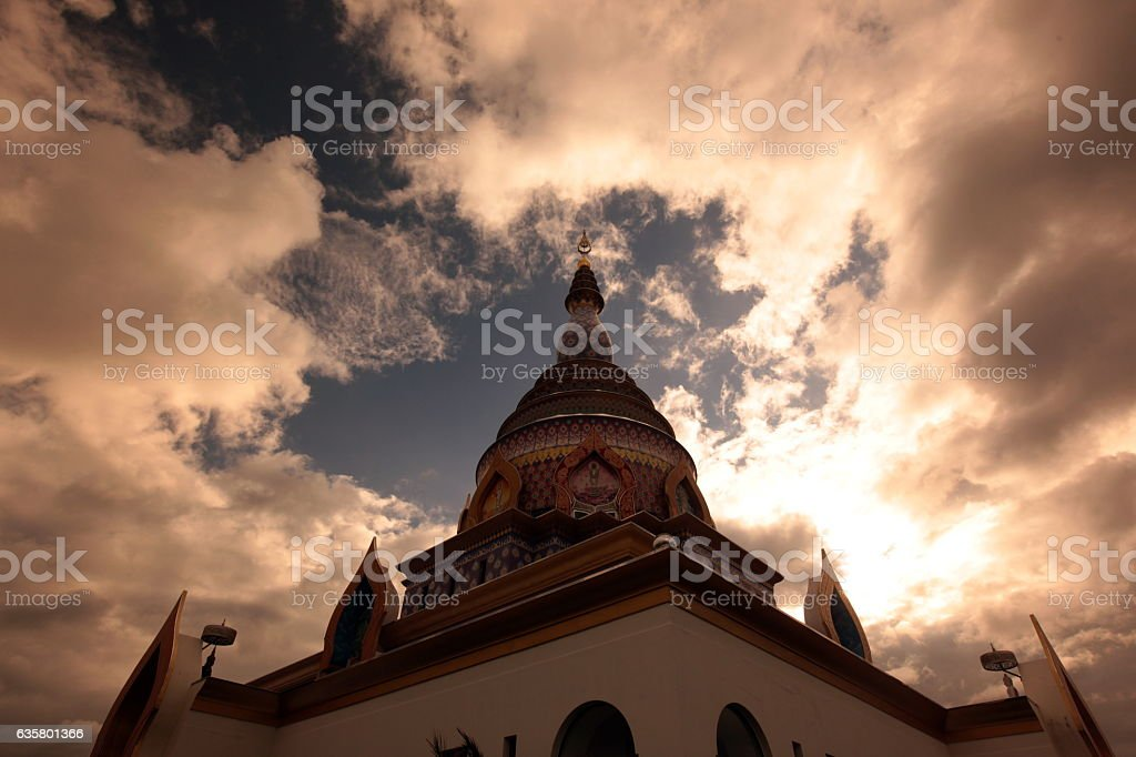 ASIA THAILAND CHIANG MAI WAT TEMPLE stock photo