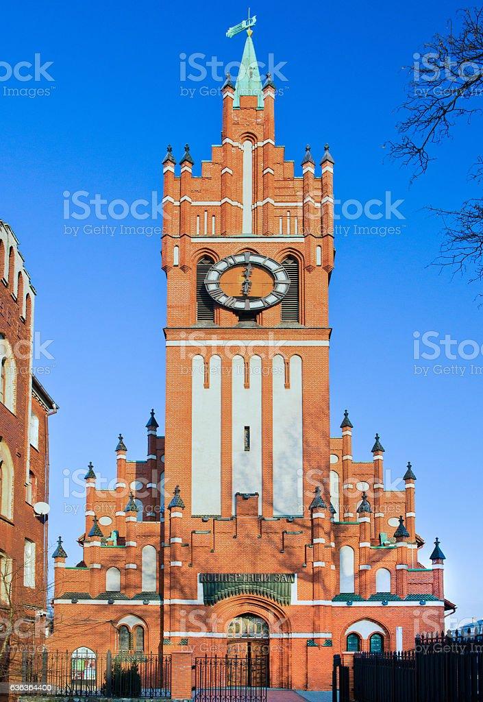 KALININGRAD, RUSSIA - JANUARY 06, 2016 stock photo
