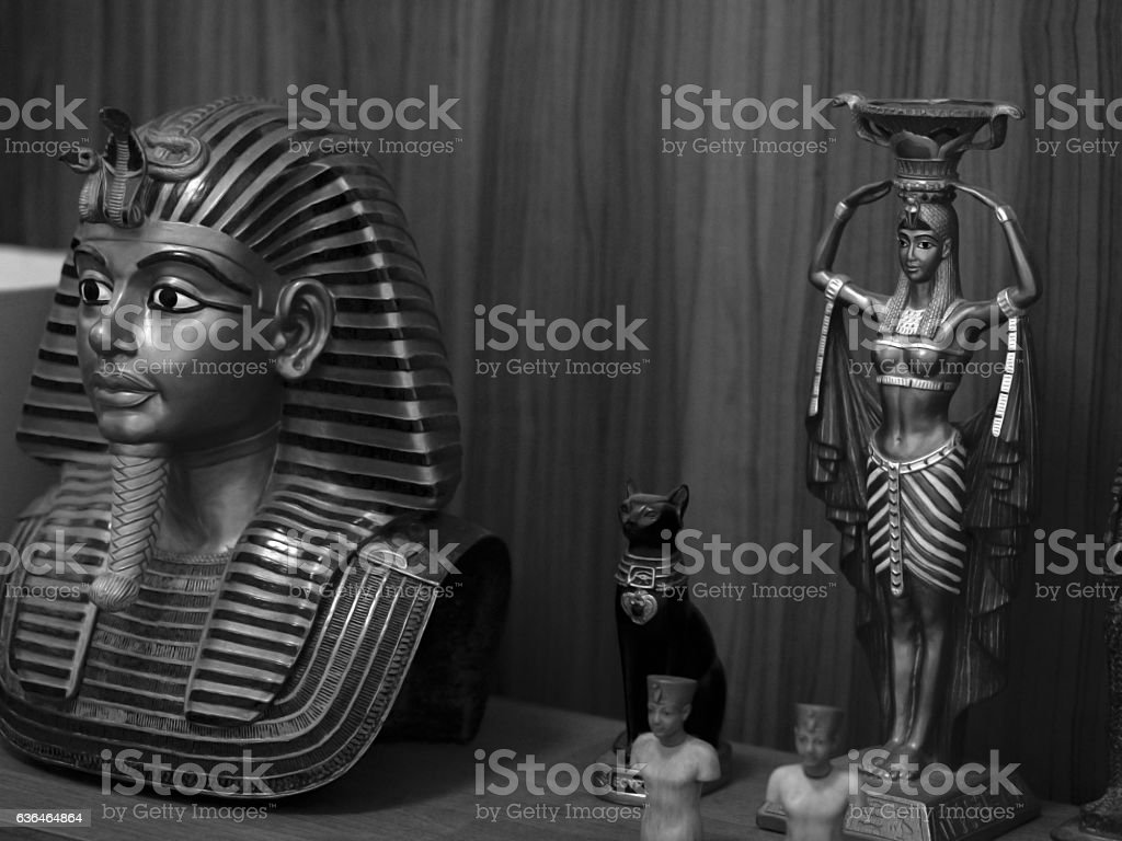 EGYPTIAN TRADITIONAL CULTURE SOUVENIRS stock photo