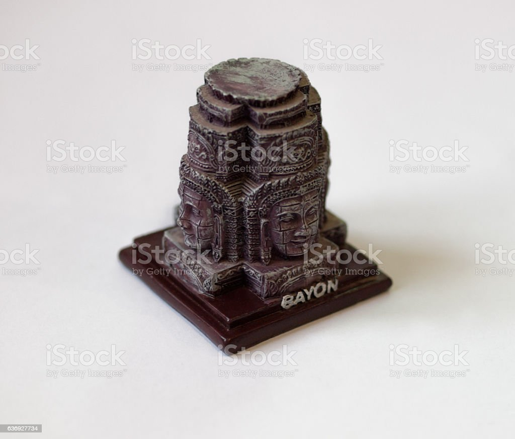 FACE TOWERS OF BAYON stock photo
