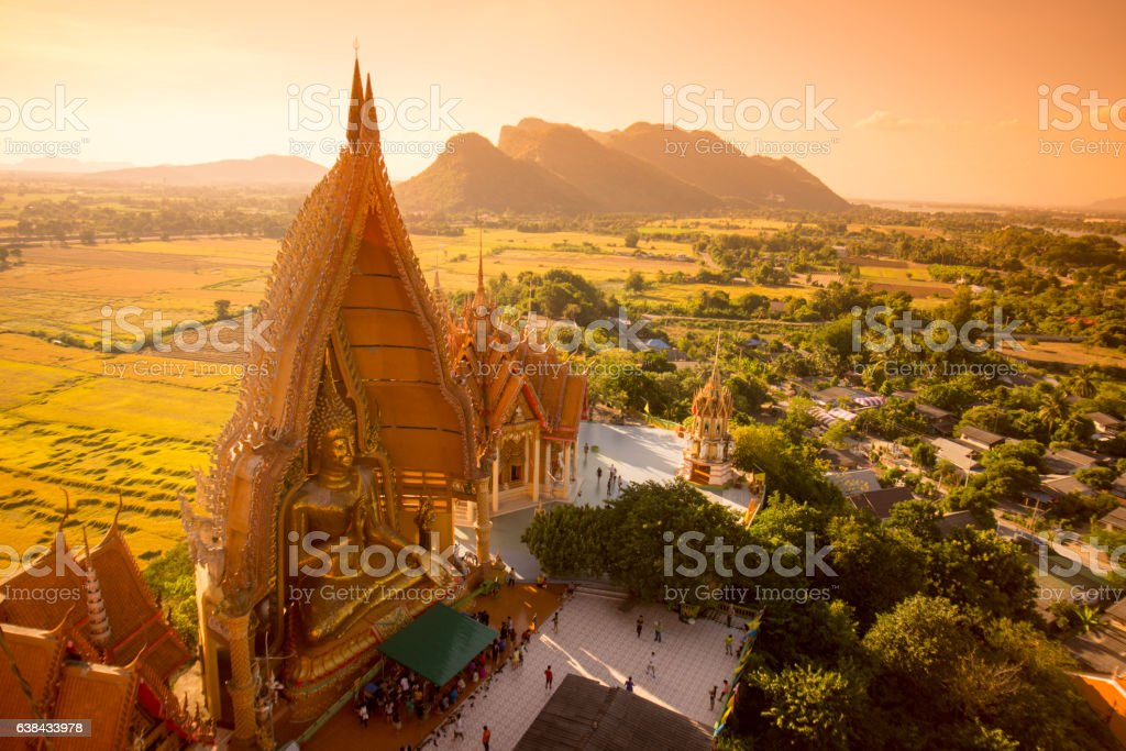 THAILAND KANCHANABURI WAT THAM SUA TEMPLE stock photo