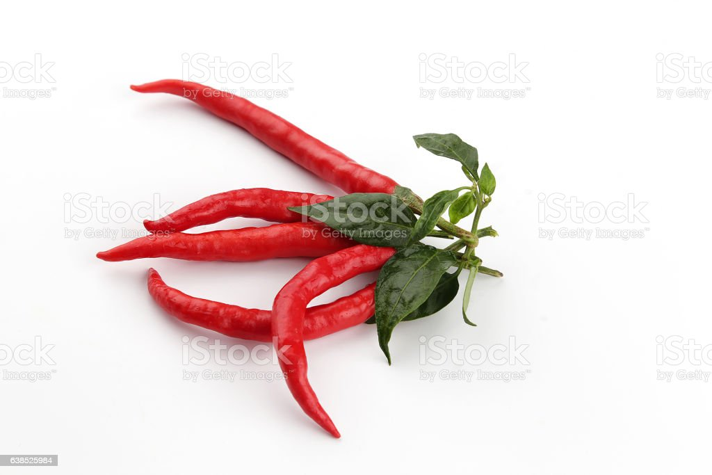 RED PEPPER, CHILI stock photo
