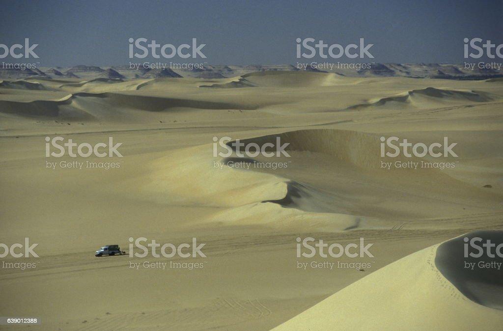 AFRICA EGYPT SAHARA SIWA DESERT stock photo