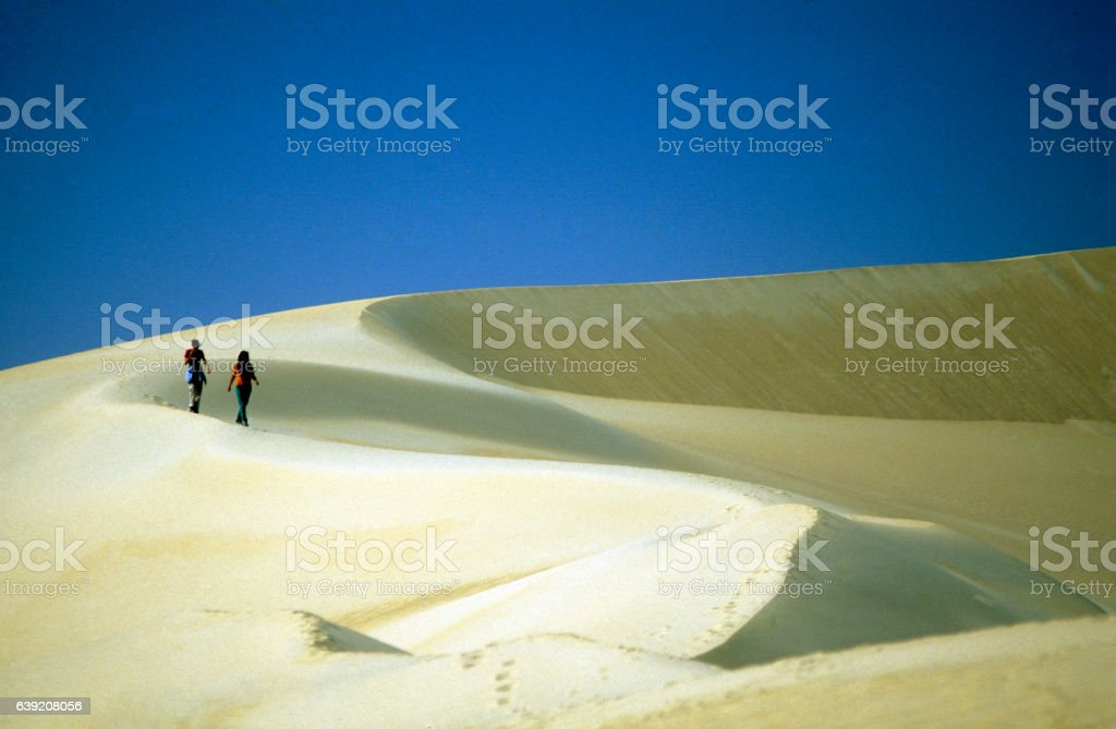 AFRICA EGYPT SAHARA SIWA DESERT stock photo