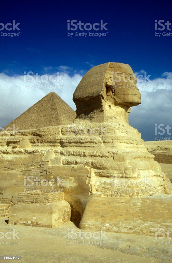 AFRICA EGYPT CAIRO GIZA PYRAMIDS stock photo
