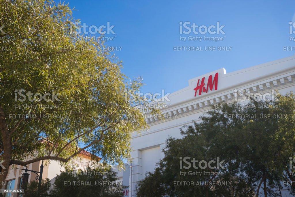 H&M stock photo