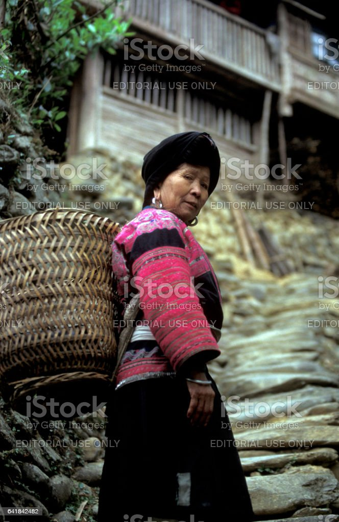 ASIA CHINA GUANGXI stock photo