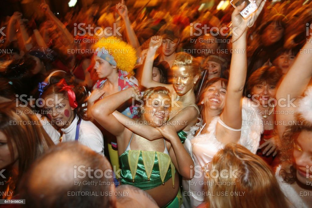 SPAIN GRAN CANARIA LAS PALMAS CARNEVALE stock photo