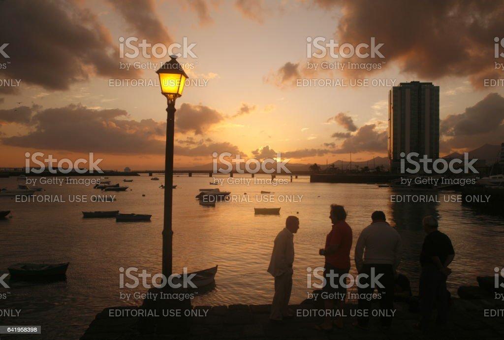 EUROPE CANARY ISLANDS LANZAROTE stock photo