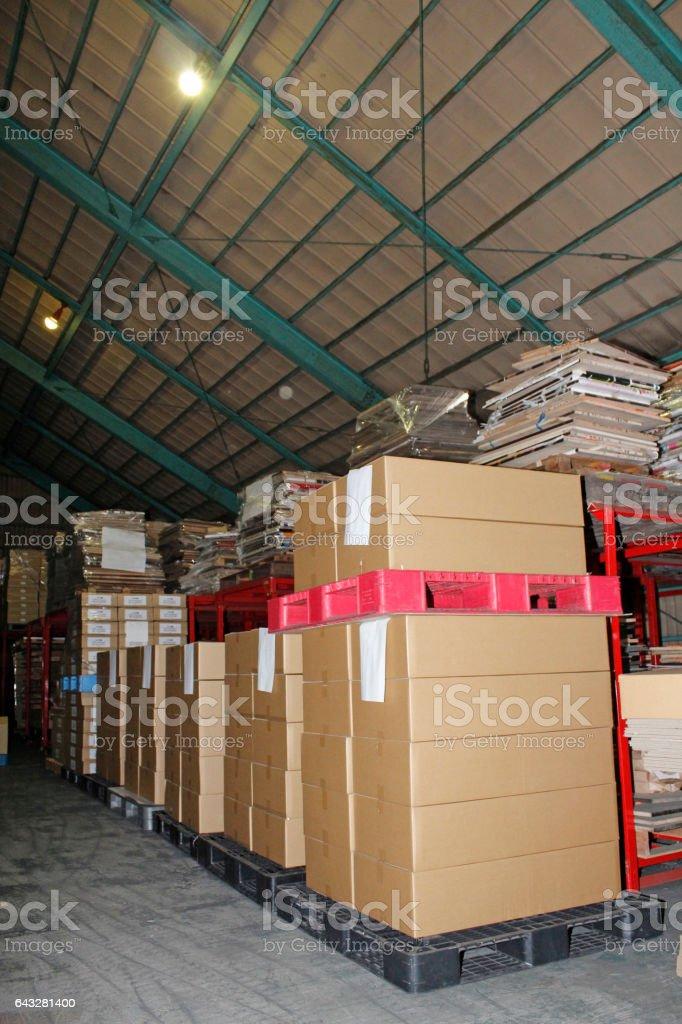 倉庫 stock photo