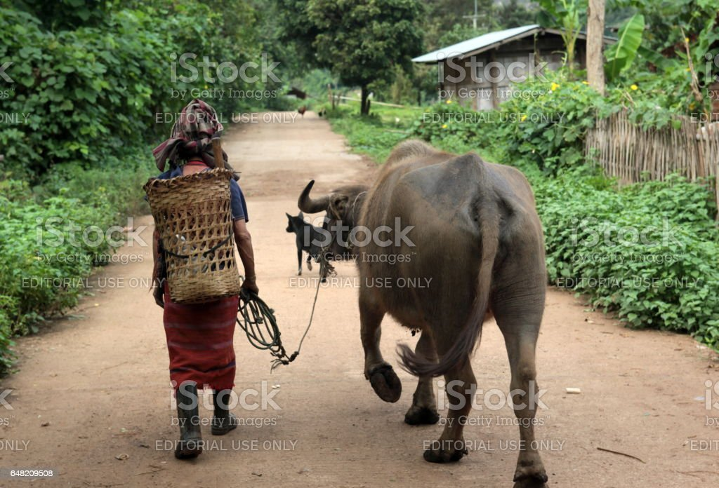 ASIA THAILAND CHIANG MAI CHIANG DAO MINORITY stock photo