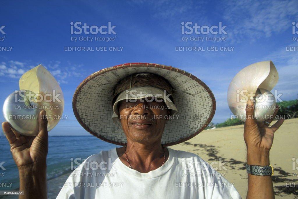 ASIA INDONESIA BALI KUTA BEACH stock photo