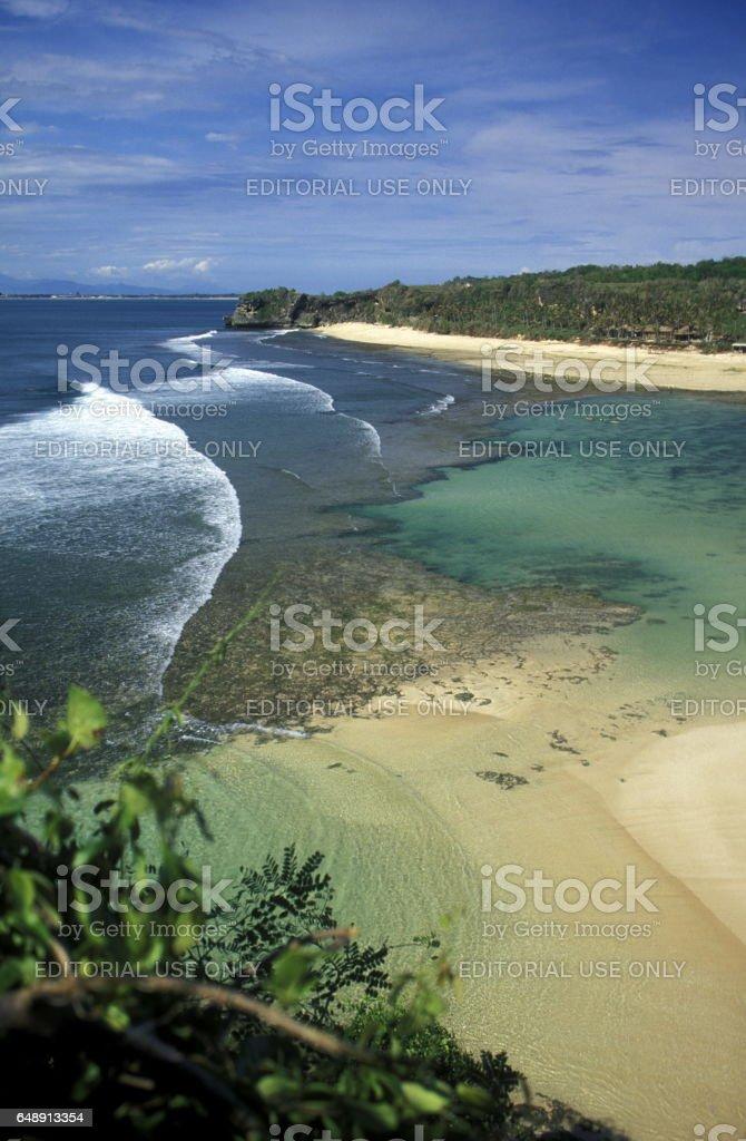 ASIA INDONESIA BALI PARADISE BEACH stock photo
