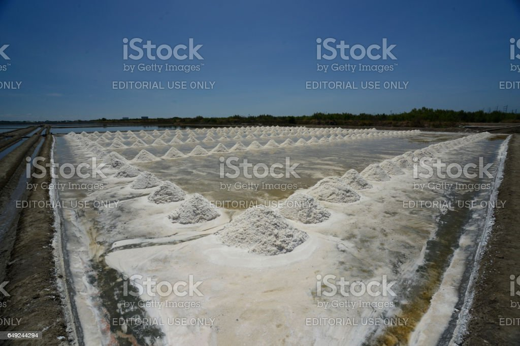 ASIA THAILAND BANGKOK SALT stock photo