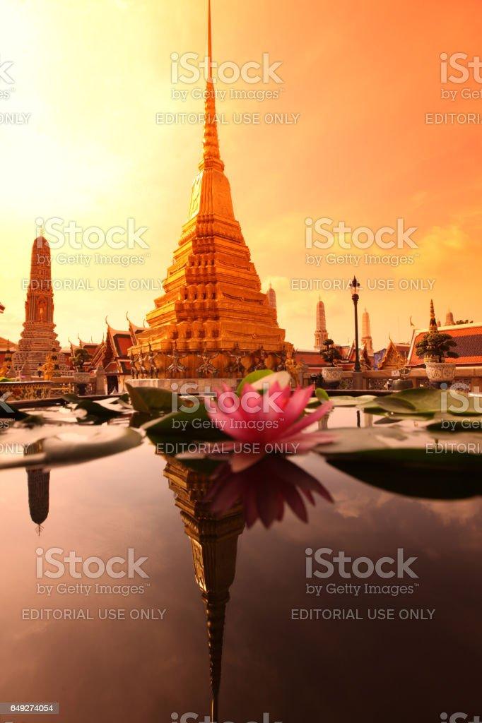 ASIA THAILAND BANGKOK WAT PHRA KAEW stock photo