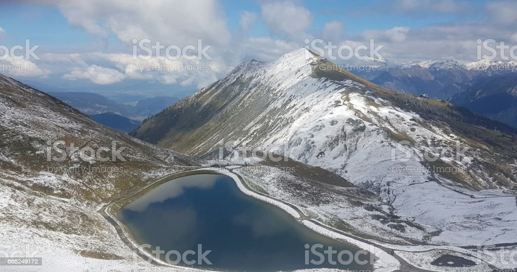 MITTELBERG - AUSTRIA stock photo