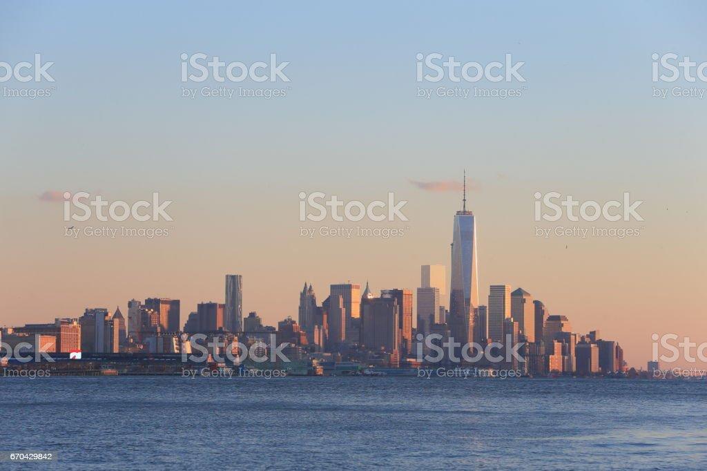 ローワーマンハッタン stock photo