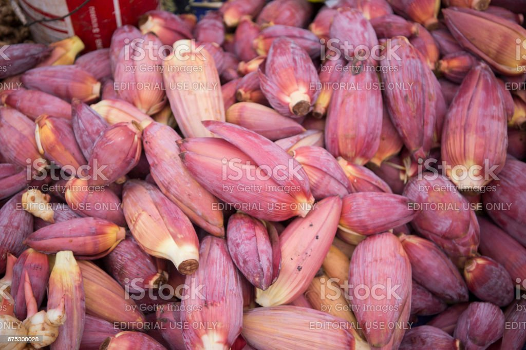 LAOS VIENTIANE TALAT SAO MARKET stock photo