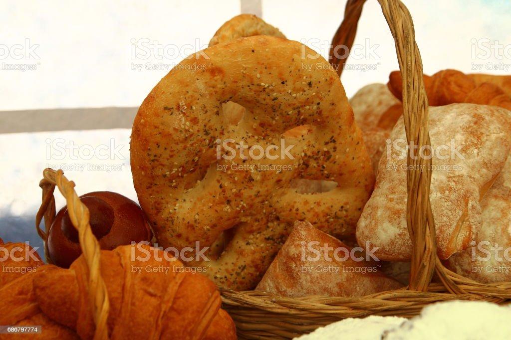 хлебобулочные изделия stock photo