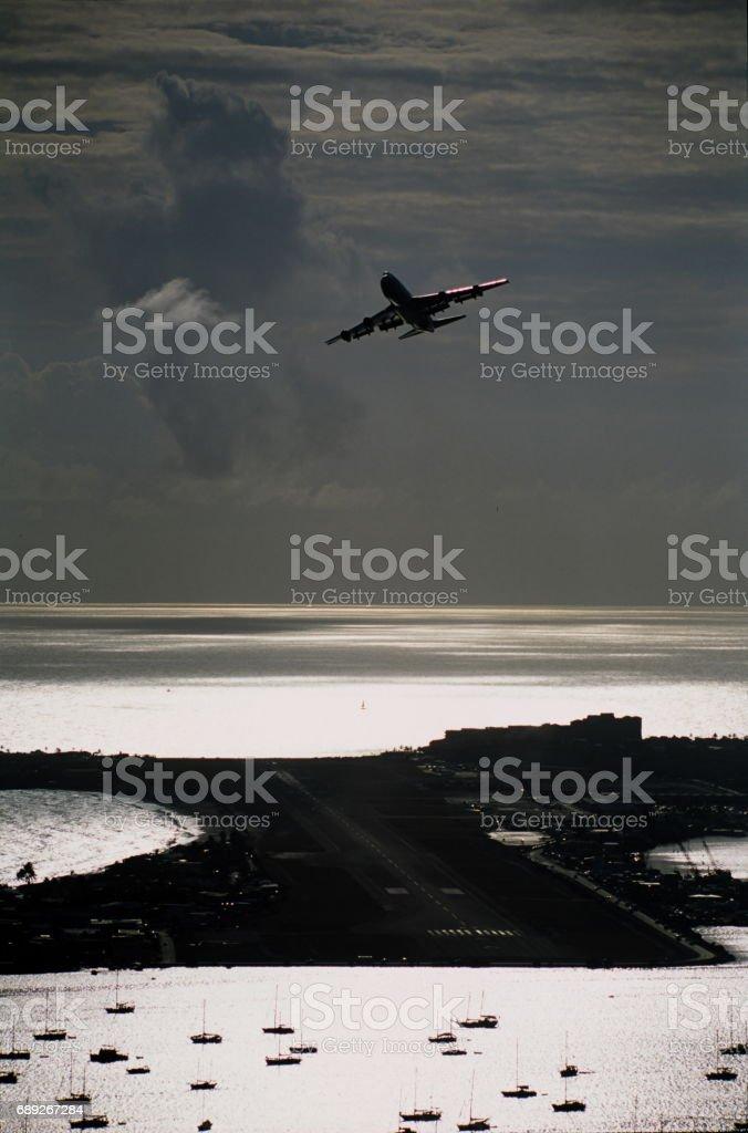 プリンセスジュリアナ空港 stock photo