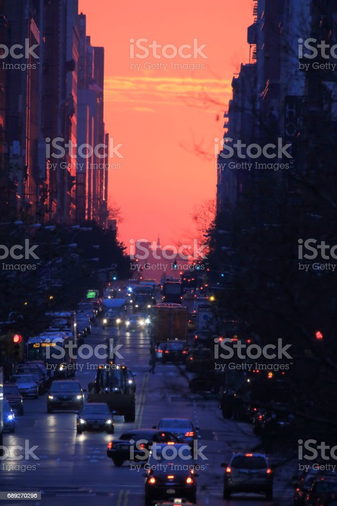マンハッタンストリート stock photo