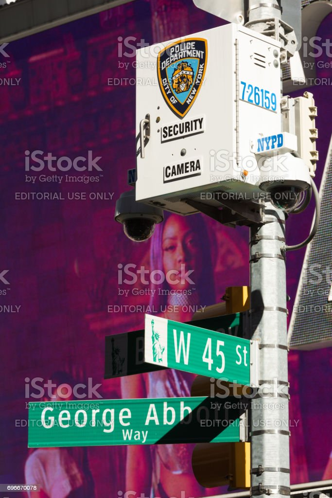 NYPD stock photo