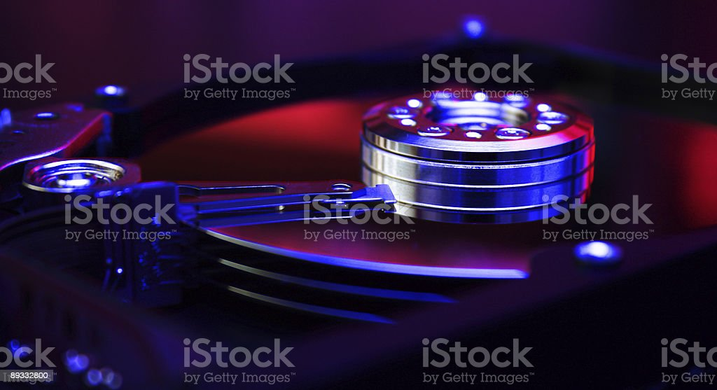 HDD royalty-free stock photo