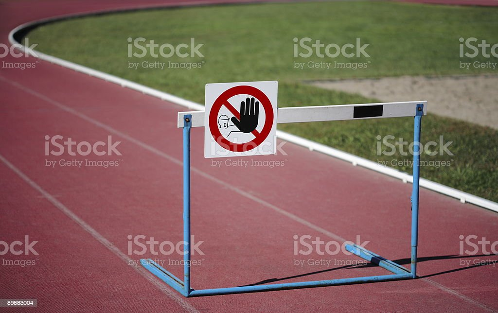 STOP royalty-free stock photo