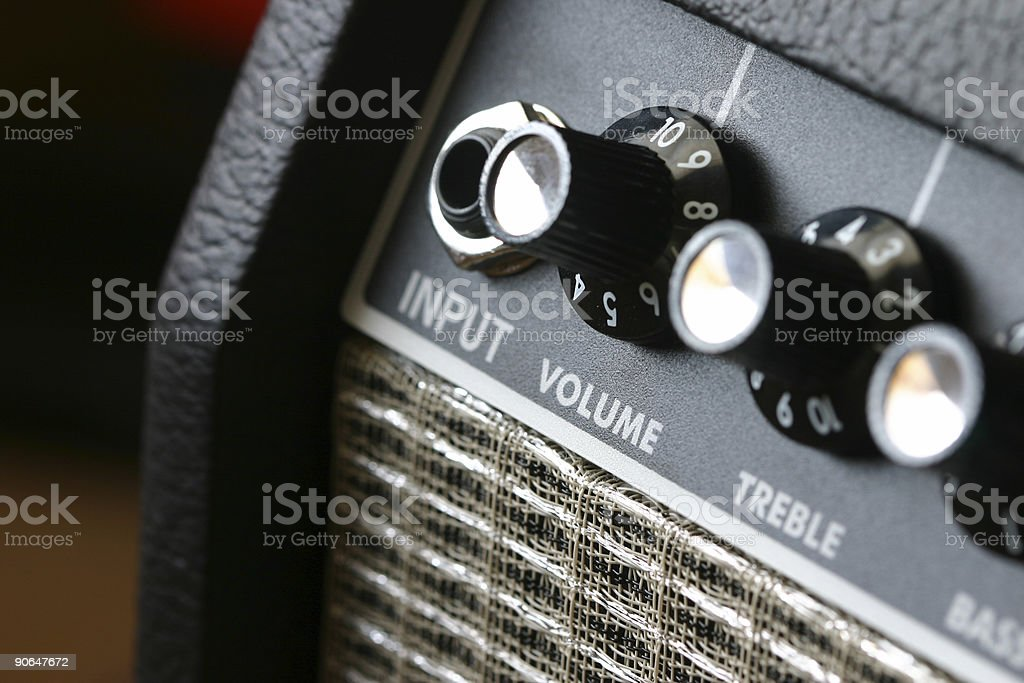 AMPED! royalty-free stock photo