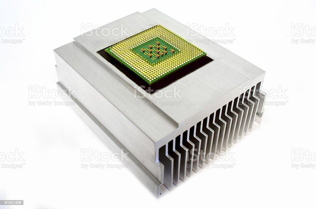 CPU royalty-free stock photo