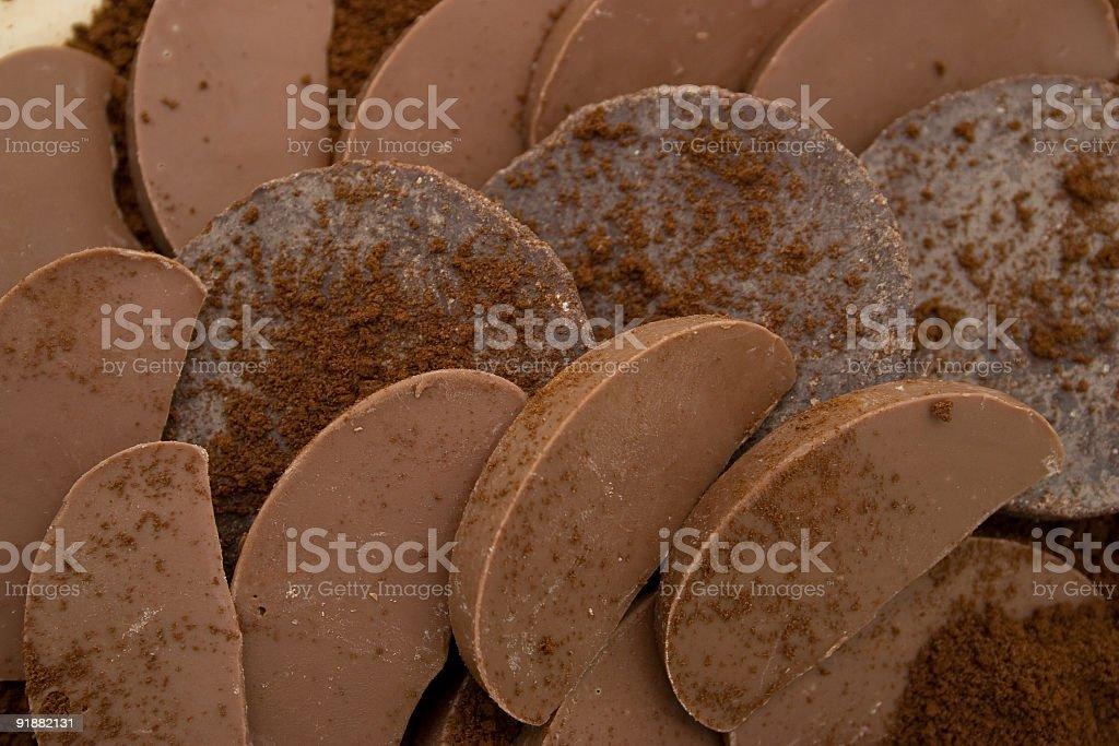 CHOCOLATE WORLD TEMPTATION royalty-free stock photo