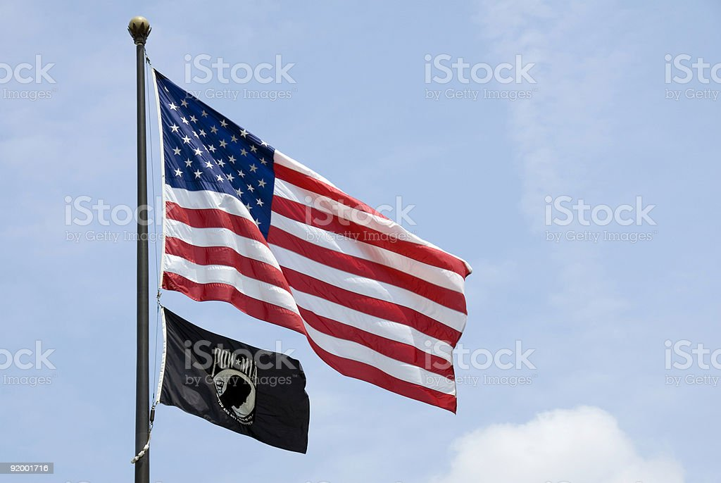 POW-MIA stock photo
