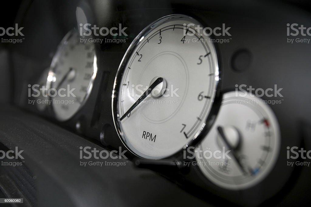 RPM stock photo