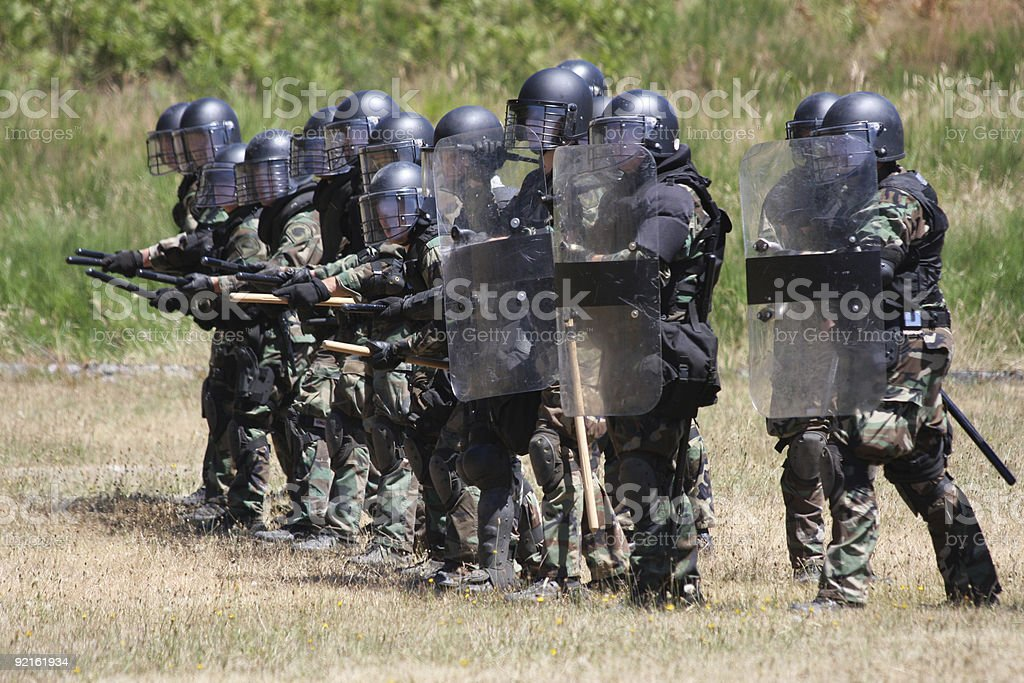 SWAT TEAM stock photo