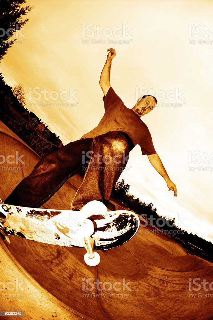 Action Sports - FS 5.0 royalty-free stock photo