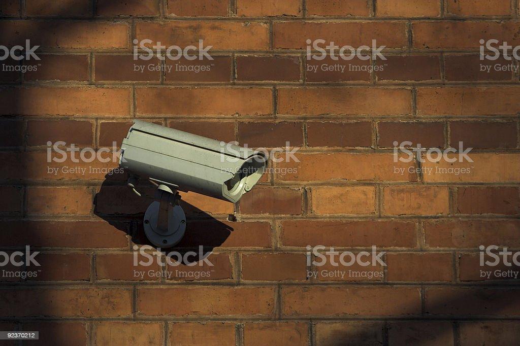 CCTV royalty-free stock photo