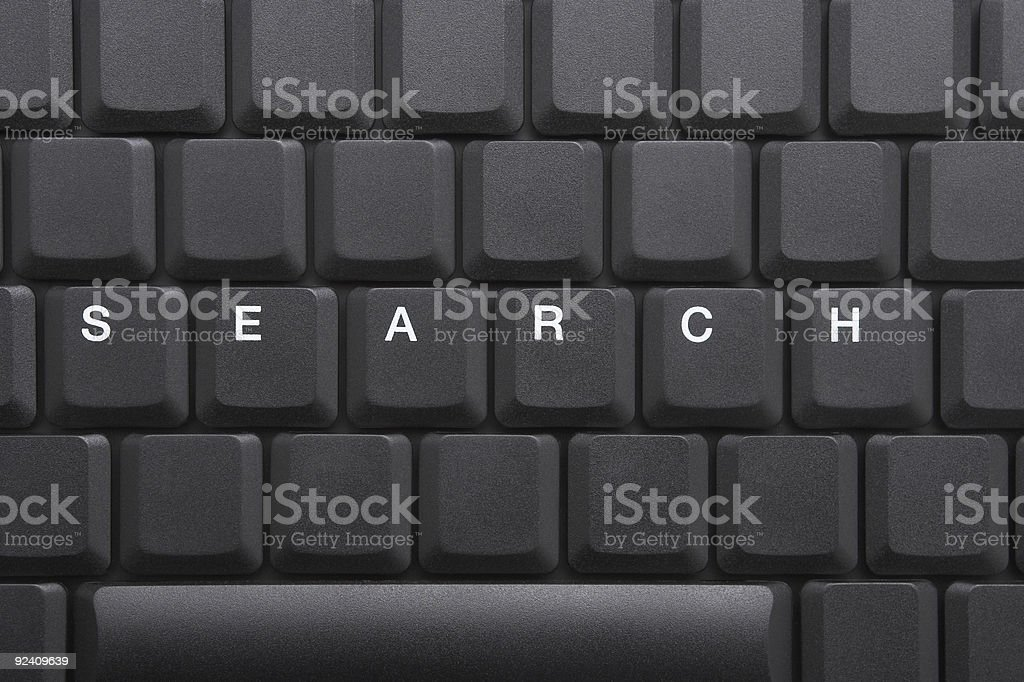 KEYBOARD - SEARCH royalty-free stock photo